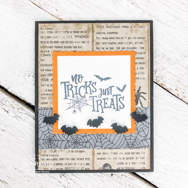 No Tricks, Just Treats Halloween Card