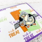 not so scary halloween card