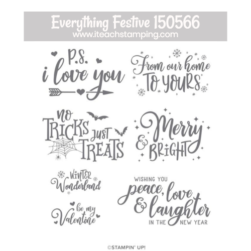 everything festive stampin up