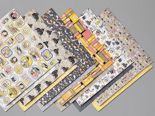 Monster Bash Patterned paper