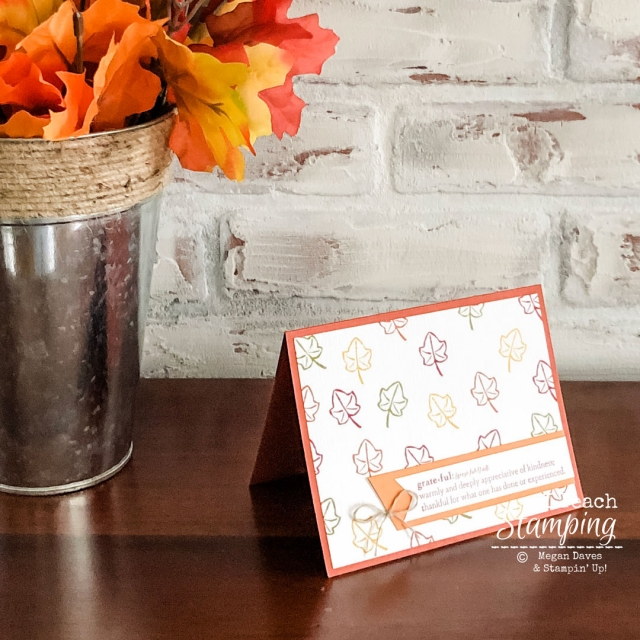 See how to make fast and adorable fall greeting cards!