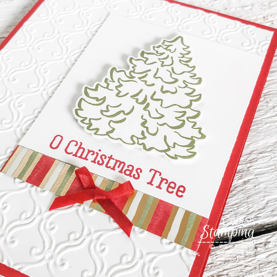Looking for some classy handmade Christmas cards ideas? Click through for the solution!