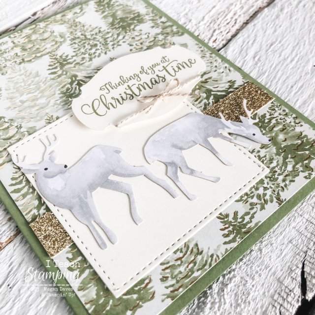 Beautiful handmade Christmas cards in just minutes? OH YES - come learn how!