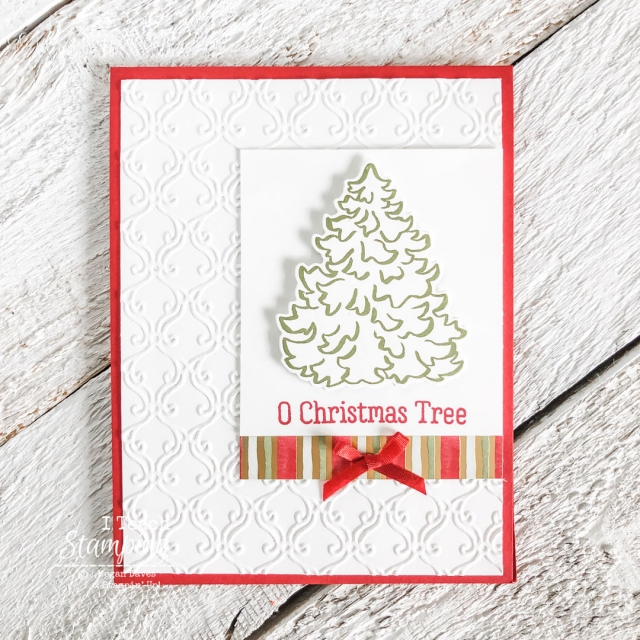 Classy handmade Christmas cards made easy - come check out a gorgeous example!