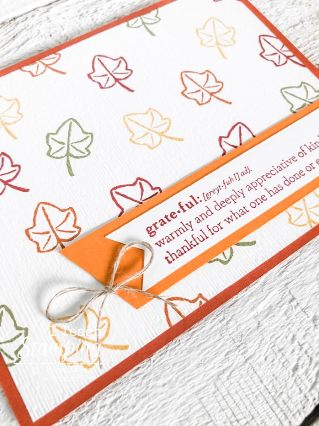 Make some custom fall greeting cards in a flash!