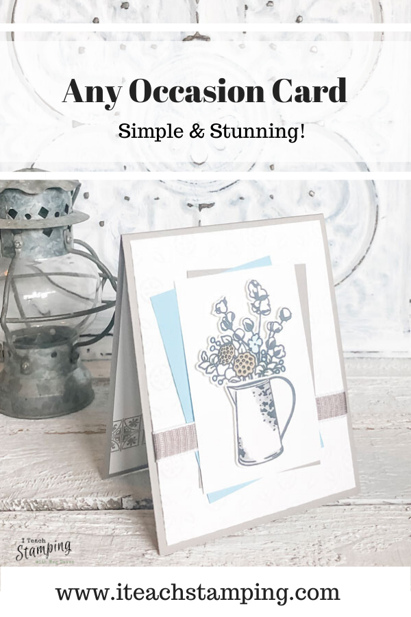 Come see an example of where I show cutting stamped images with Scan N Cut using Stampin' Up! stamps that don't have a matching die - no fussy cutting necessary!