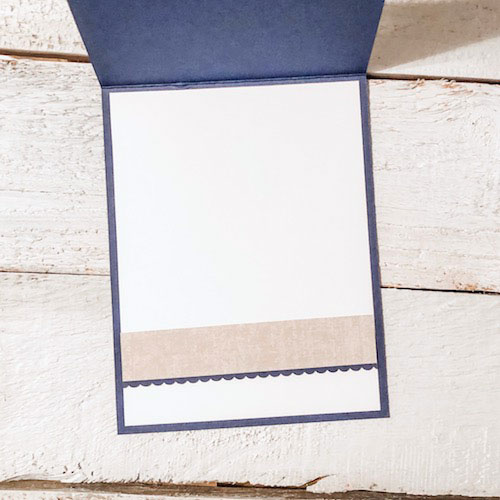 Come see how to dress up the inside of your handmade Thanksgiving cards with scraps!