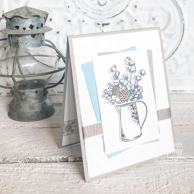 Today I am sharing Cutting Stamped Images with Scan N Cut using Stampin' Up! stamps that don't have a matching die.