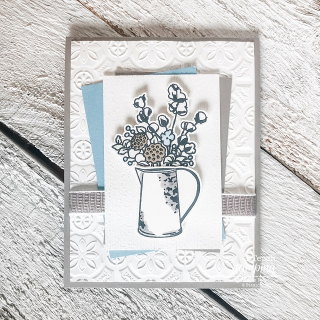 Yes! Cutting stamped images with Scan N Cut IS possible with Stampin' Up! stamps - come see an example!