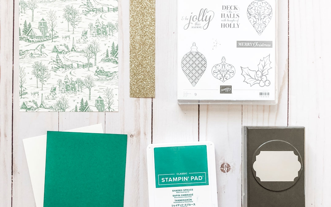 Clean and Simple Handmade Christmas Cards