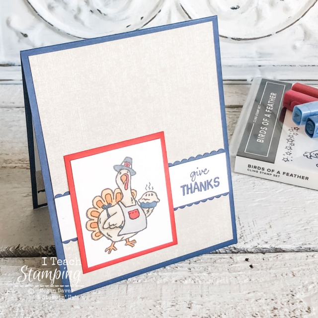 Come check out an example of ADORABLE handmade Thanksgiving cards!