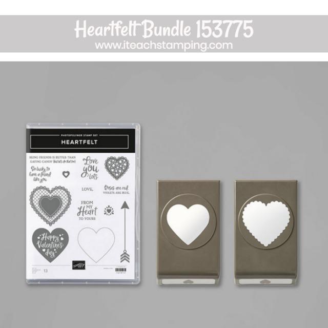 heartfelt bundle stampin up