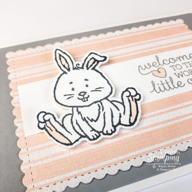 Handmade baby cards LOVE baby animals - come see what non-baby set this came from!
