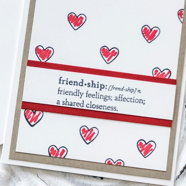 Yes you CAN make simple friendship cards in mere minutes - come see how!