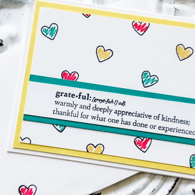 Send some grateful greeting cards you can make in an instant with this one set!