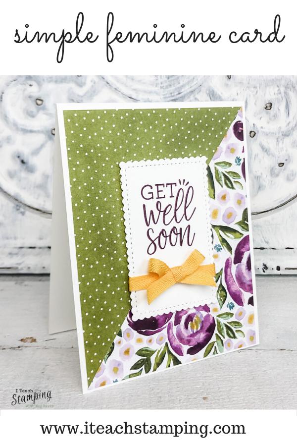 Simple Get Well Soon Card