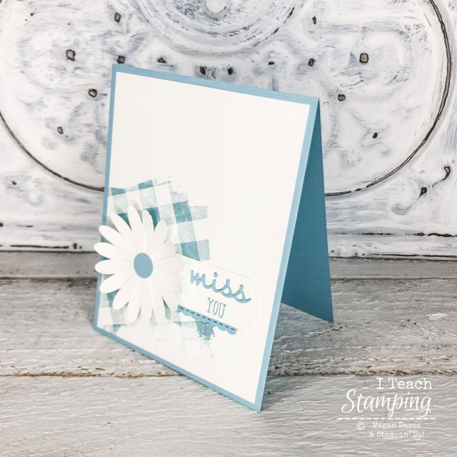 A simple card design featuring a pretty monochromatic color scheme - see the details!