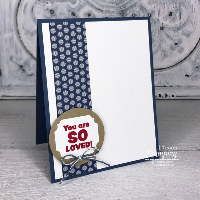 Need to know how to make a quick card? Click through to see how to make this cutie!