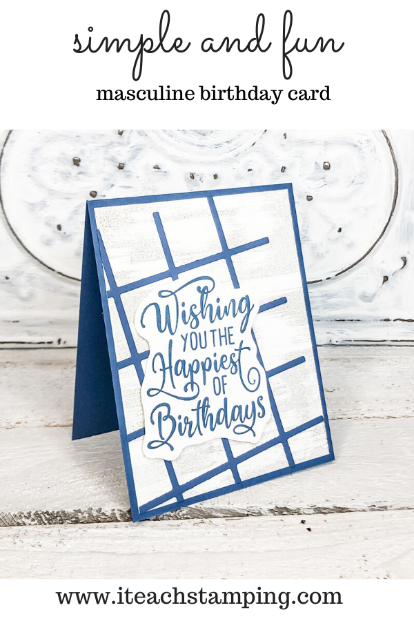 You can make a batch of these Easy Handmade Birthday Cards with just a few supplies!