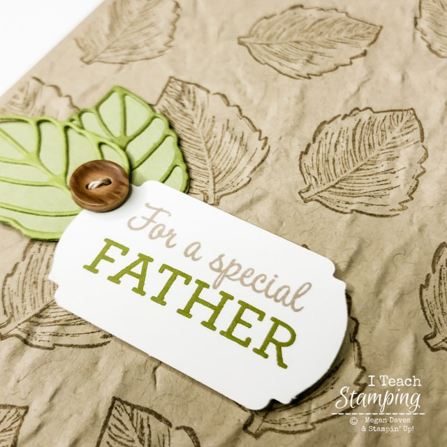 Fast and Easy DIY Father's Day cards using one stamp and die cut