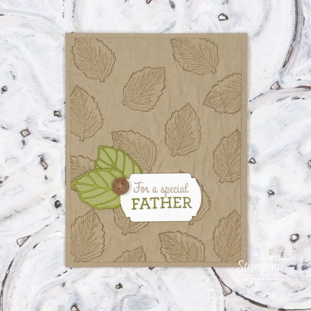 DIY Father's Day Cards in monochromatic colors with a pop of color