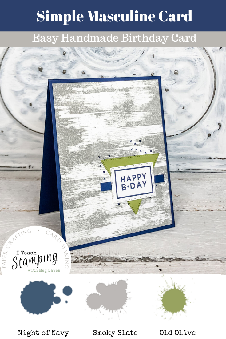 Ping this to your handmade birthday cards for him board to come back to when you have time to craft!