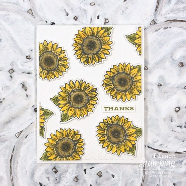 Click thrugh to learn how to make these sunflower thank you cards!