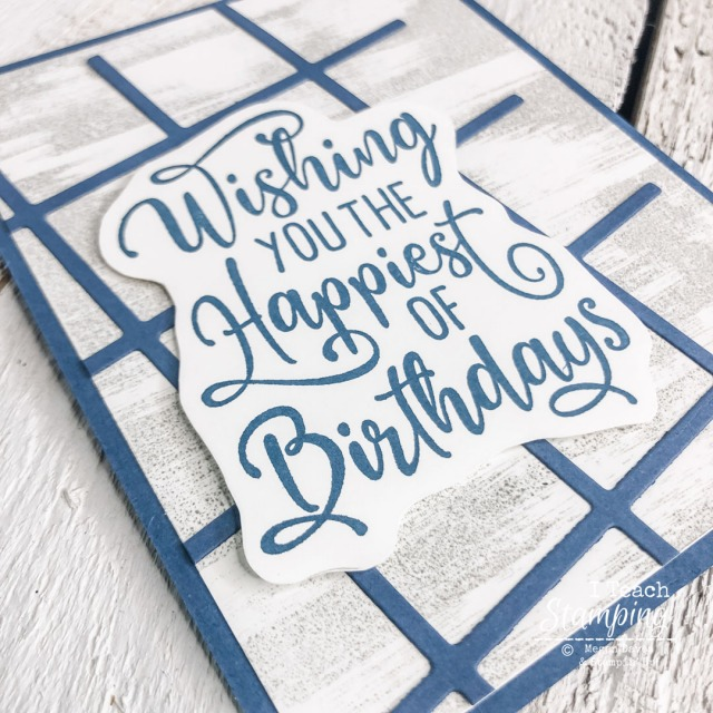 These Easy Handmade Birthday Cards use just two colors and are perfect for guys - check out a couple of tips on the blog!