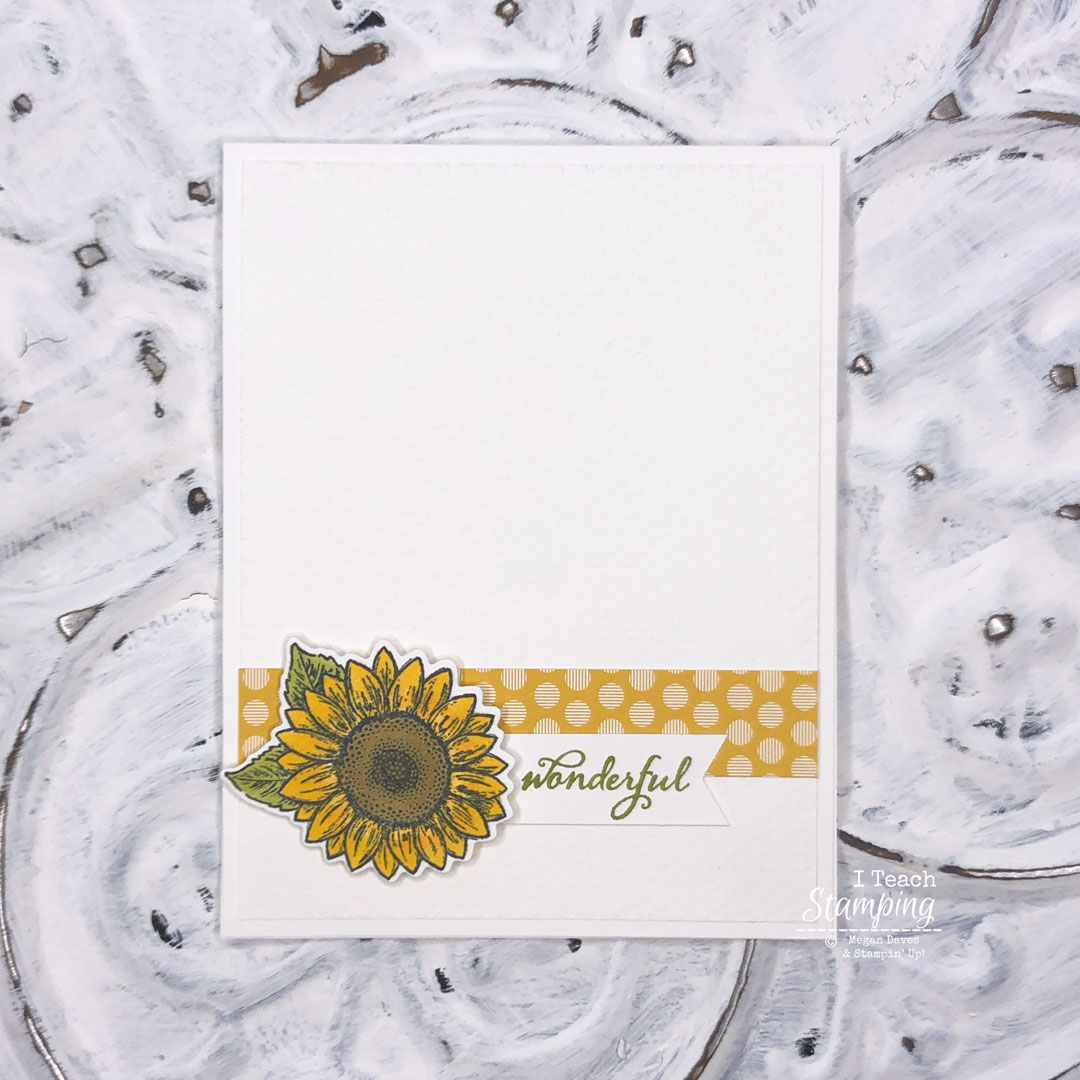 Proof that a Simple Greeting Card does NOT have to be boring - come get the details!