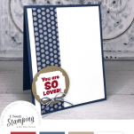 How to make a quick card that is ALSO full of love - come see!