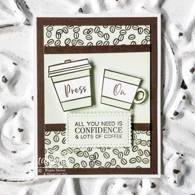 I love sending handmade encouragement cards and when they feature coffee - well, that's just perfect - come see!