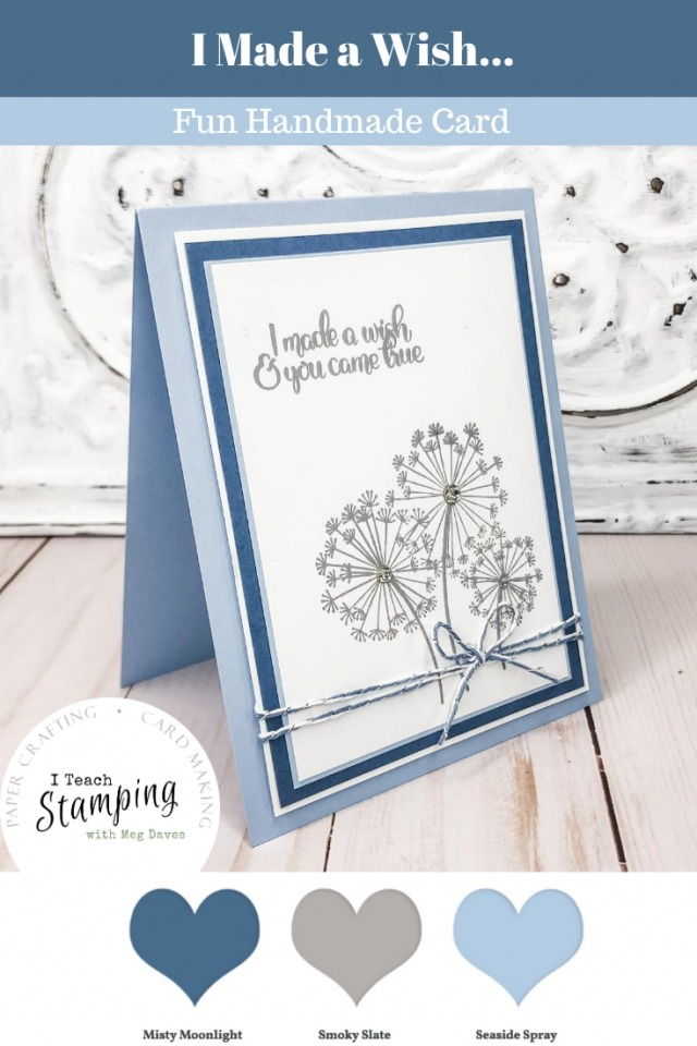 I LOVE simple card making tips and I am sharing two today - come see how to take OK to WOW in no time flat!