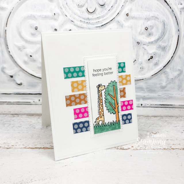 Make a batch of handmade get well soon cards using mostly scraps - come get the details!