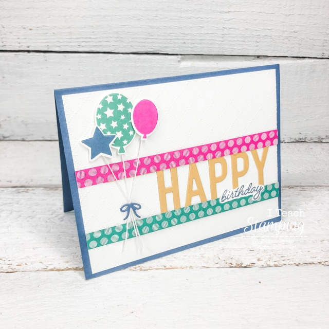 This card uses only Stampin' Up! In Colors 2020-2022 and white - come see the details!