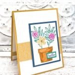 Come learn how to make a super easy card featuring the New Stampin' Up! In Colors!