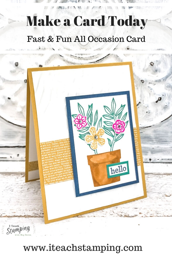 New Stampin' Up! In Colors!