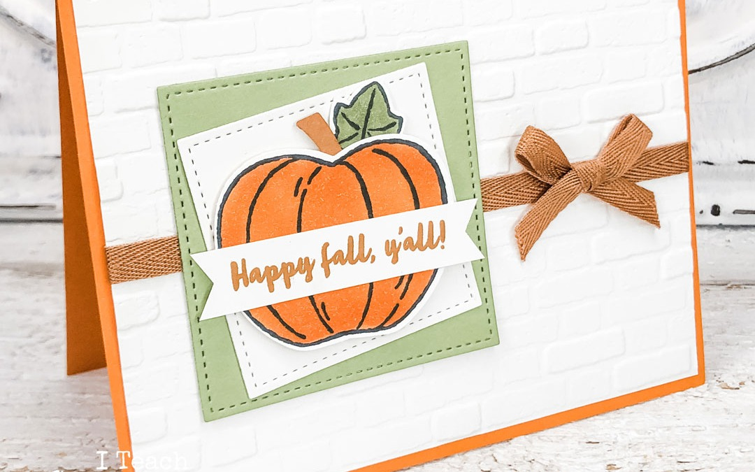 Happy Fall Cards, Y'all!