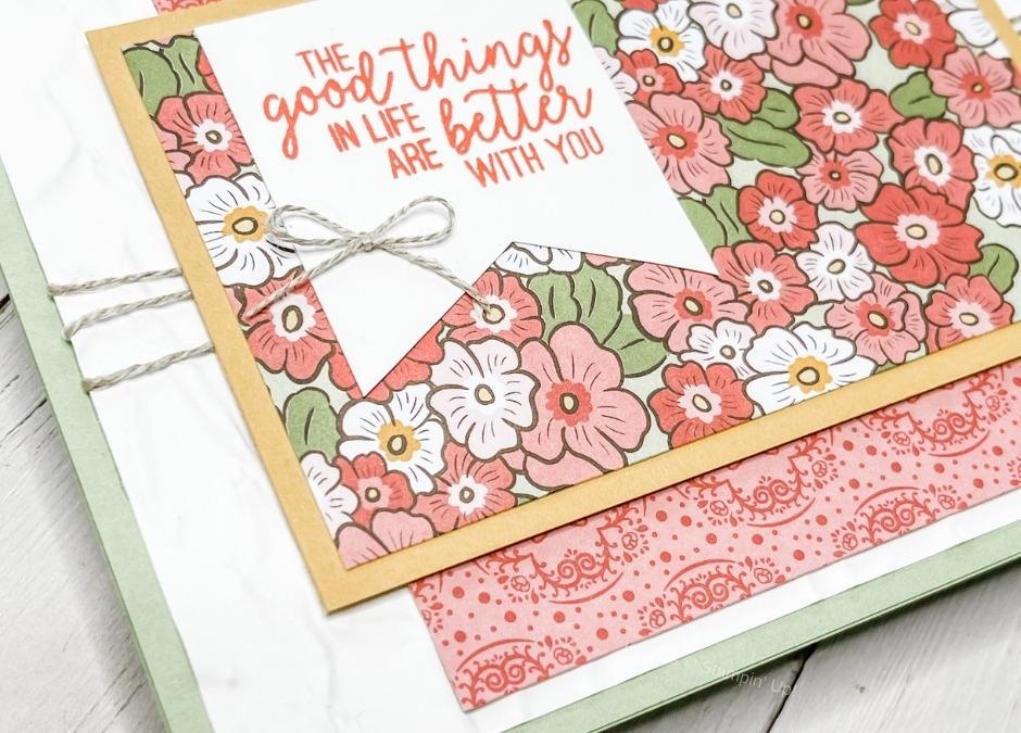 Making A Card For A True Friend