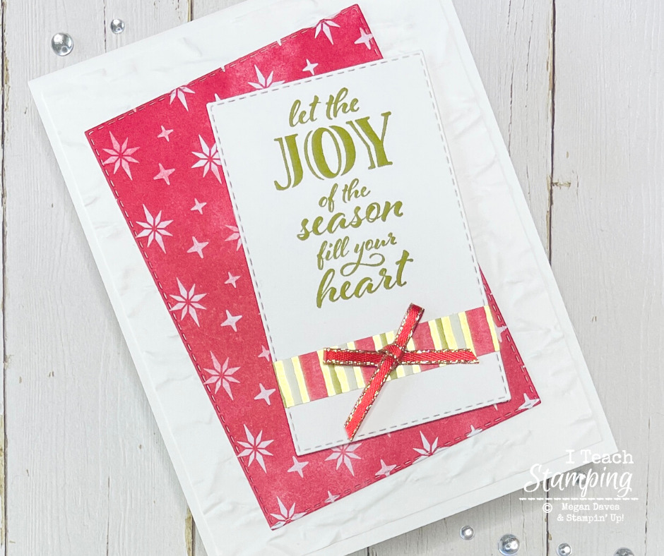 Christmas Paper For Easy Card Making (Part 2)