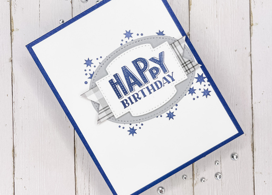 Masculine Handmade Birthday Cards