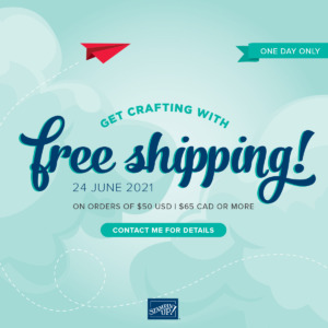 Free Shipping – ONE DAY ONLY!!
