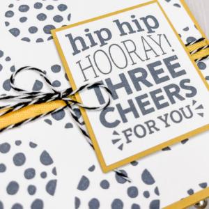 Handmade Card Birthday or Congratulations