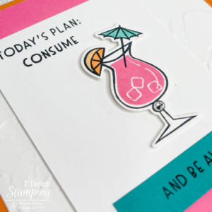 Perfect Card To Kick Off a Vacation
