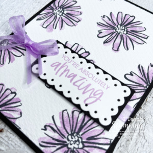 You're Absolutely Amazing Handmade Card
