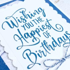 Simple & Easy Birthday Card