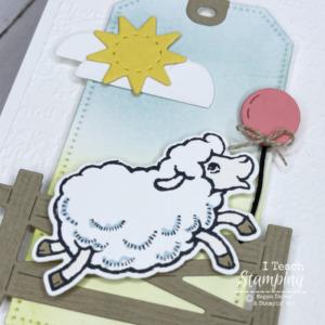 Stampin Up Counting Sheep