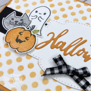 Halloween Card Using the Cutest Halloween Stamps